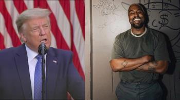 饒舌歌手肯伊威斯特宣布選總統 挑戰偶像川普