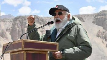 中印衝突:印度總理莫迪到訪拉達克 稱「不會停止建造道路橋樑」
