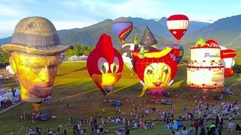 台東熱氣球嘉年華11日開跑 在地人百元無限次進出