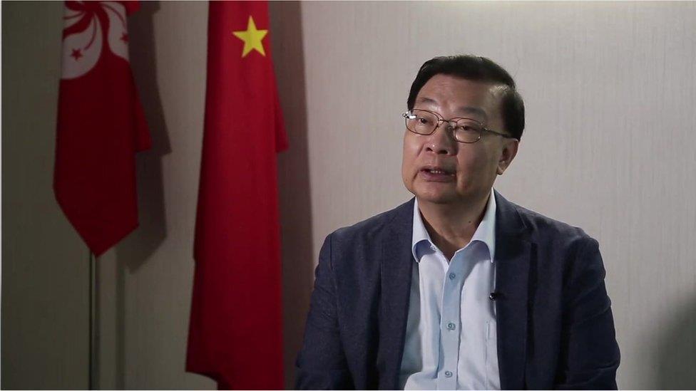 譚耀宗:香港《國安法》立法後有人要以身試法 那只能繩之於法