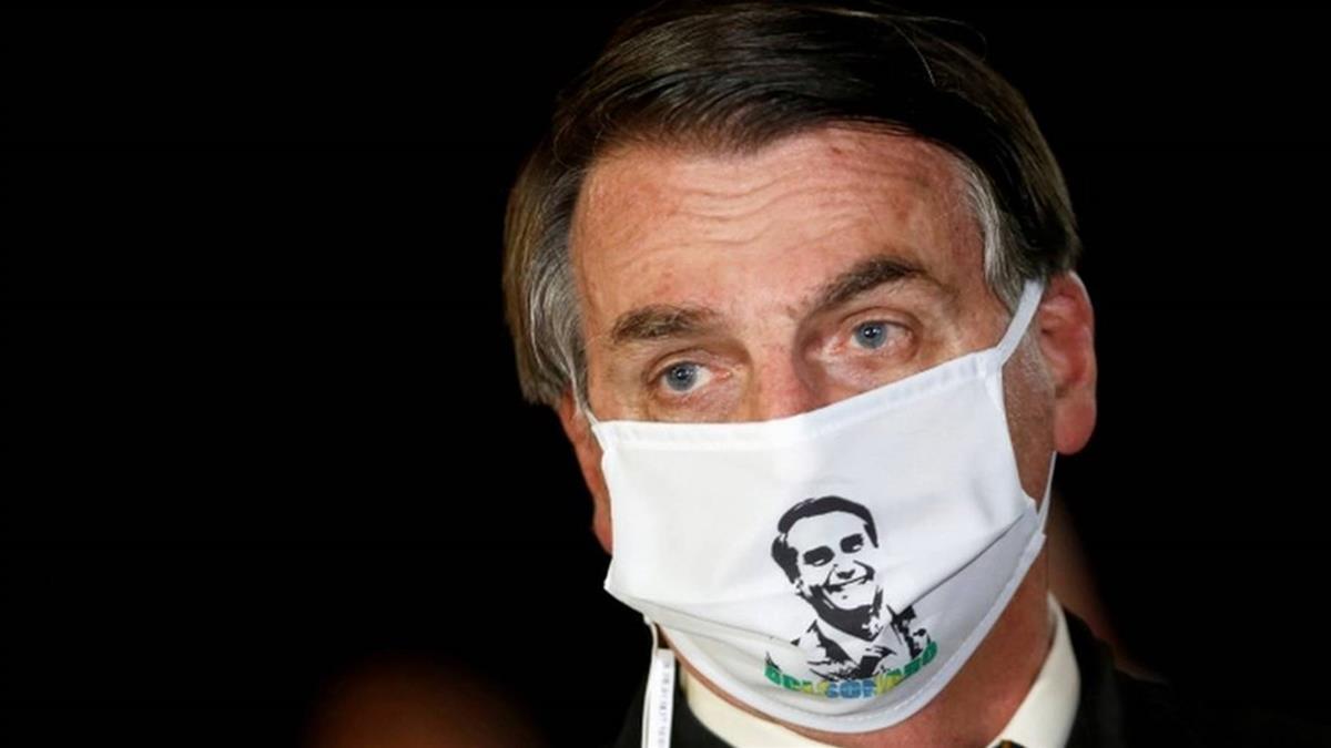 肺炎疫情:巴西感染數超150萬 拒絶口罩的總統博爾索納羅確診前後說過什麼