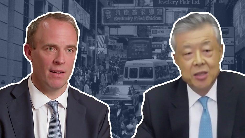 香港《國安法》:英中外交官就「干涉中國內政」起口水仗