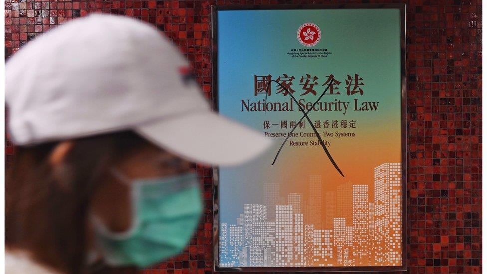 香港《國安法》:五張圖為你詳解法律重點