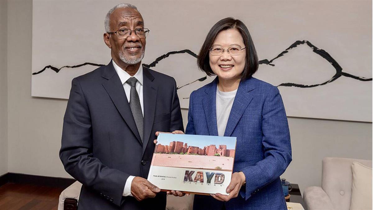 日媒:台設索馬利蘭代表處 牽制中國稱霸非洲