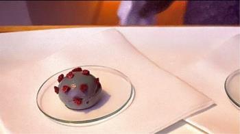 推出武肺病毒甜點被罵爆 米其林3星餐廳駁:這是藝術