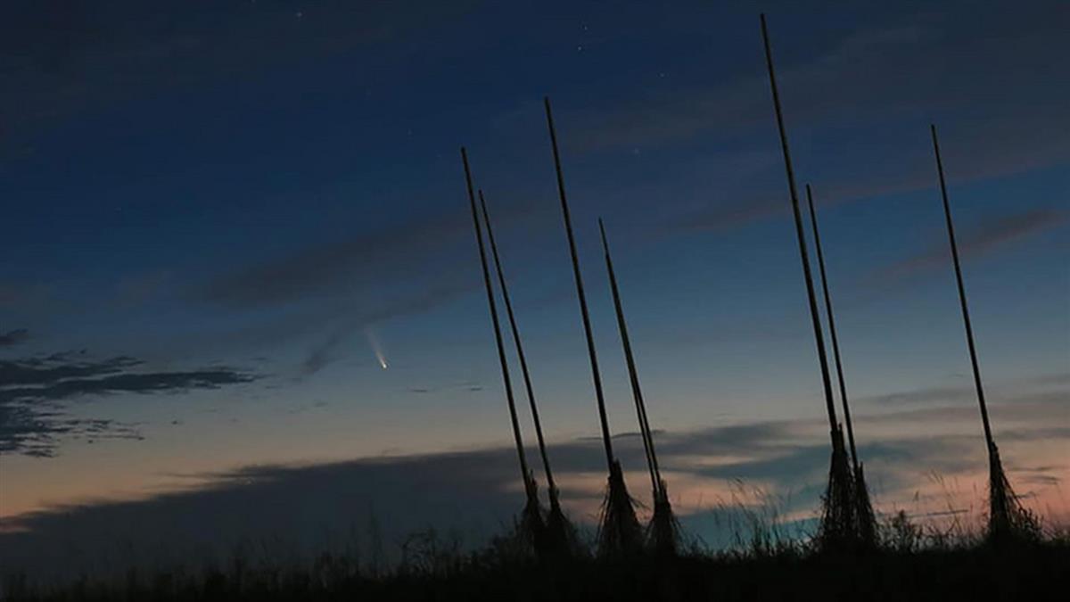 天文迷注意!本週這時間東北方可見新彗星
