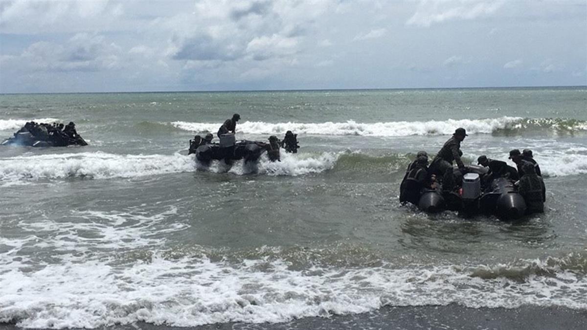 海陸翻艇2死!漢光演習取消突擊艇登陸 改兩棲突擊車搶灘