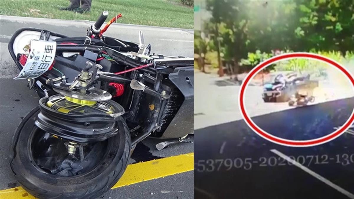 驚悚畫面曝!貨車高速追撞雙載機車 2人噴飛40米慘死