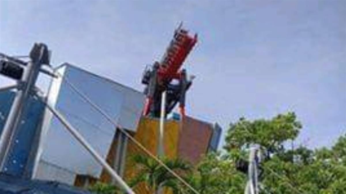 快訊/麗寶樂園斷軌列車突停止!20遊客卡35米高空嚇尖叫