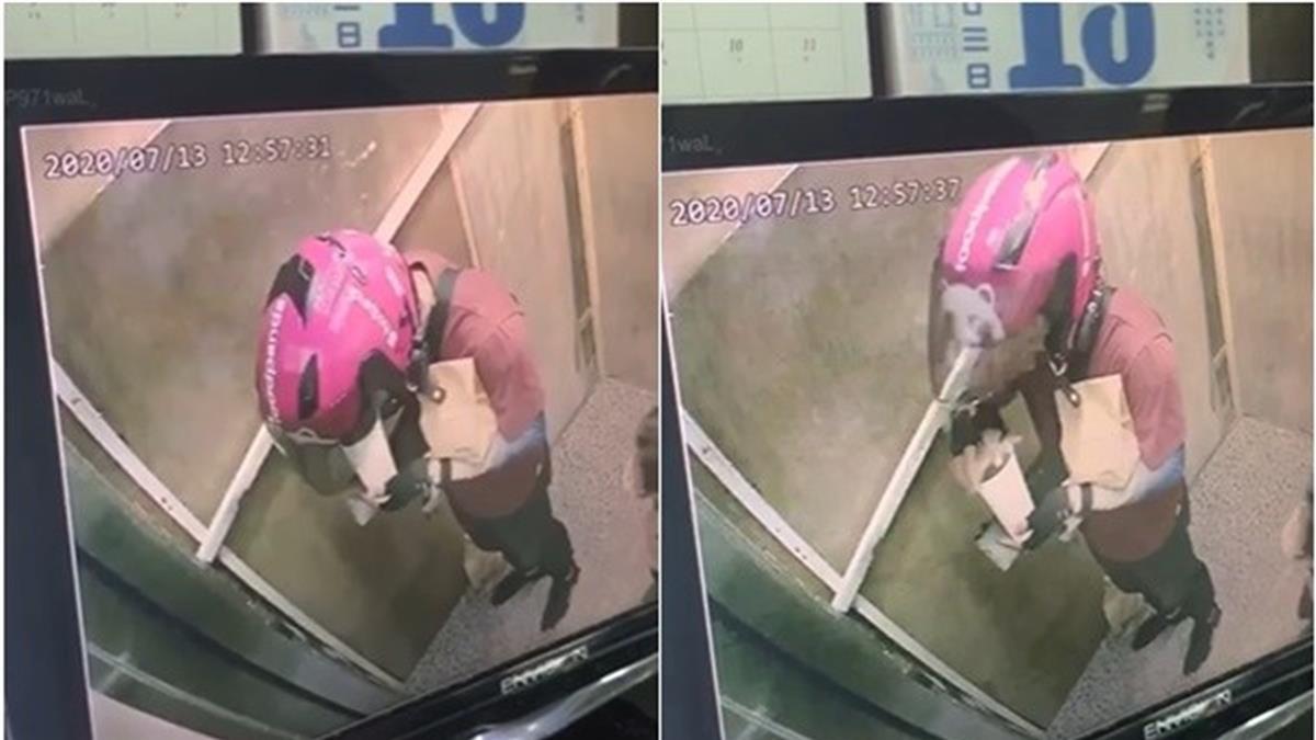 超噁!外送員偷喝客人飲料被抓到 熊貓終於回應了