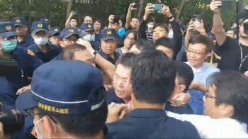 拒馬迎陳菊!國民黨怒衝立院圍城 力阻完成報告