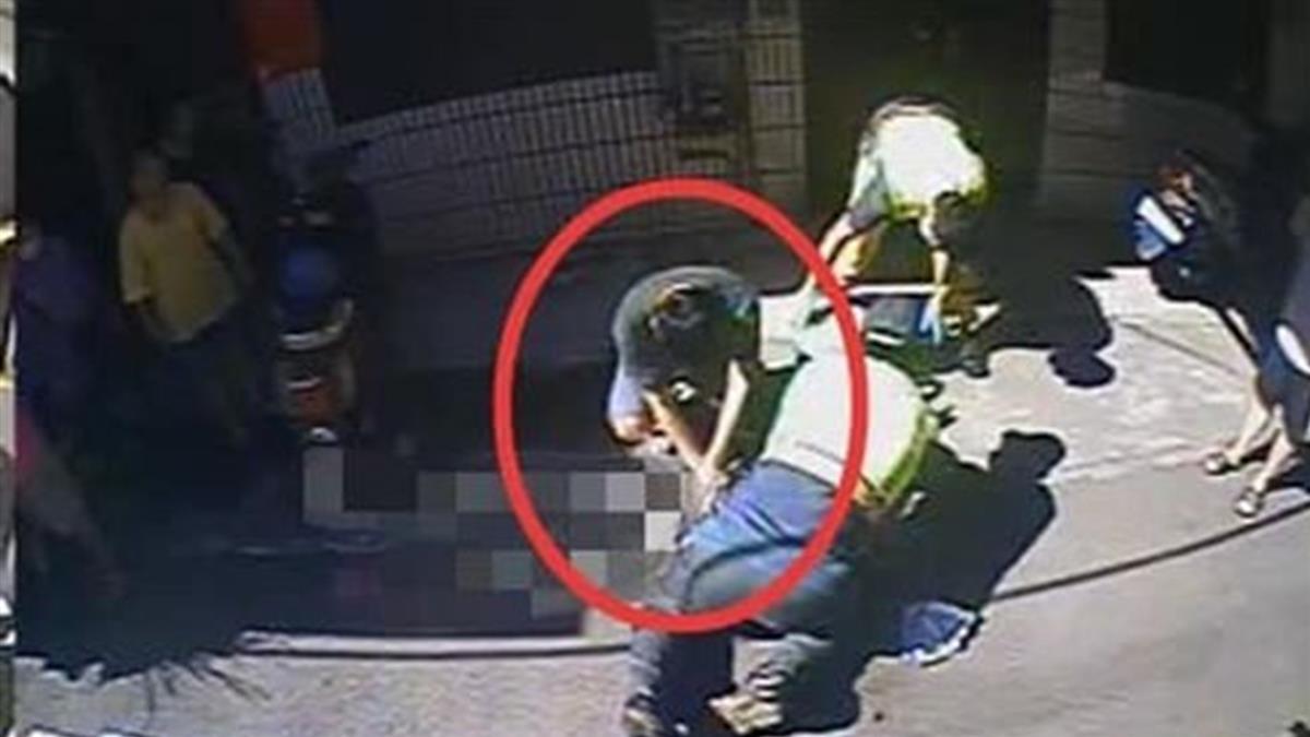 哭了!婦人疑心肌梗塞昏迷  少年跪高溫路面CPR救人