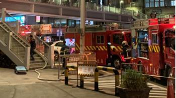 監察院旁天橋 民眾引火自焚意識模糊送醫搶救