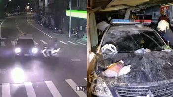 三峽車禍1死3傷!後座友人右手腳全斷 父控:警察故意的
