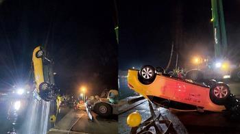 真相大白!台中港計程車落海4死 檢驗屍確定死因