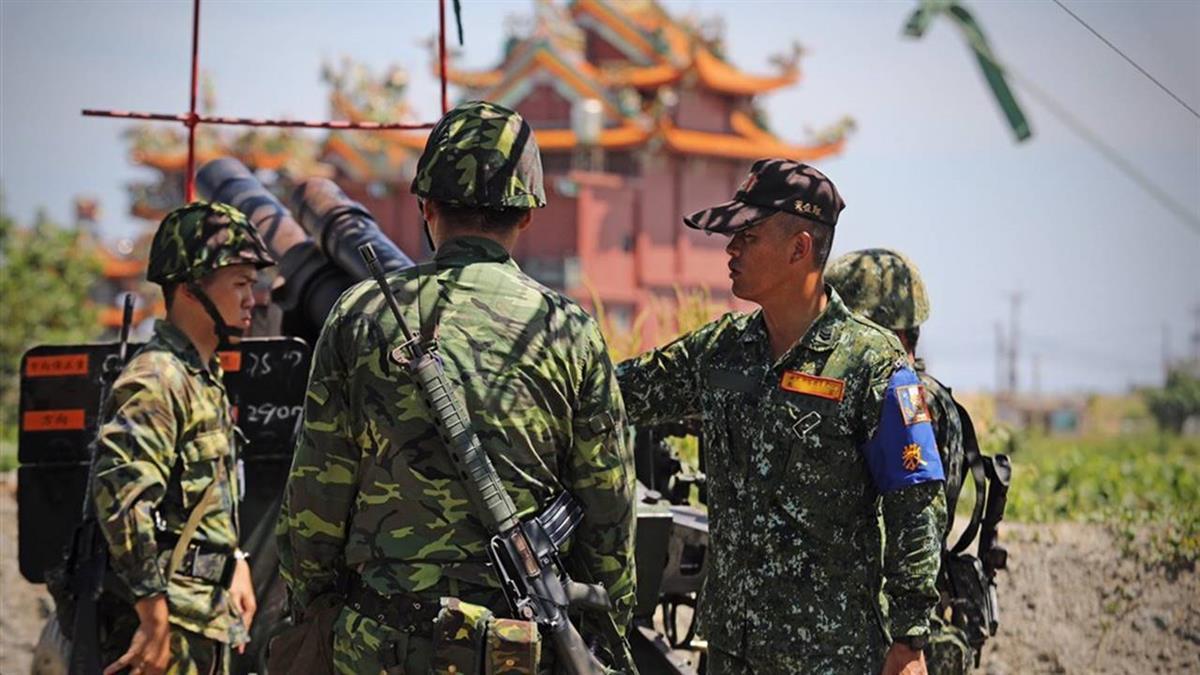漢光演習 總統:後備軍人首次參與105榴彈砲射擊