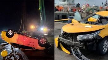台中計程車墜海4死!生還者1小時才上岸 曝驚悚逃生經過