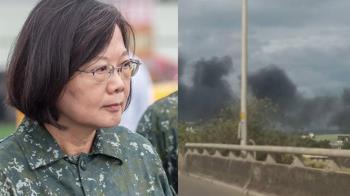 戰搜直升機重落地2飛官殉職 蔡英文:全力協助家屬