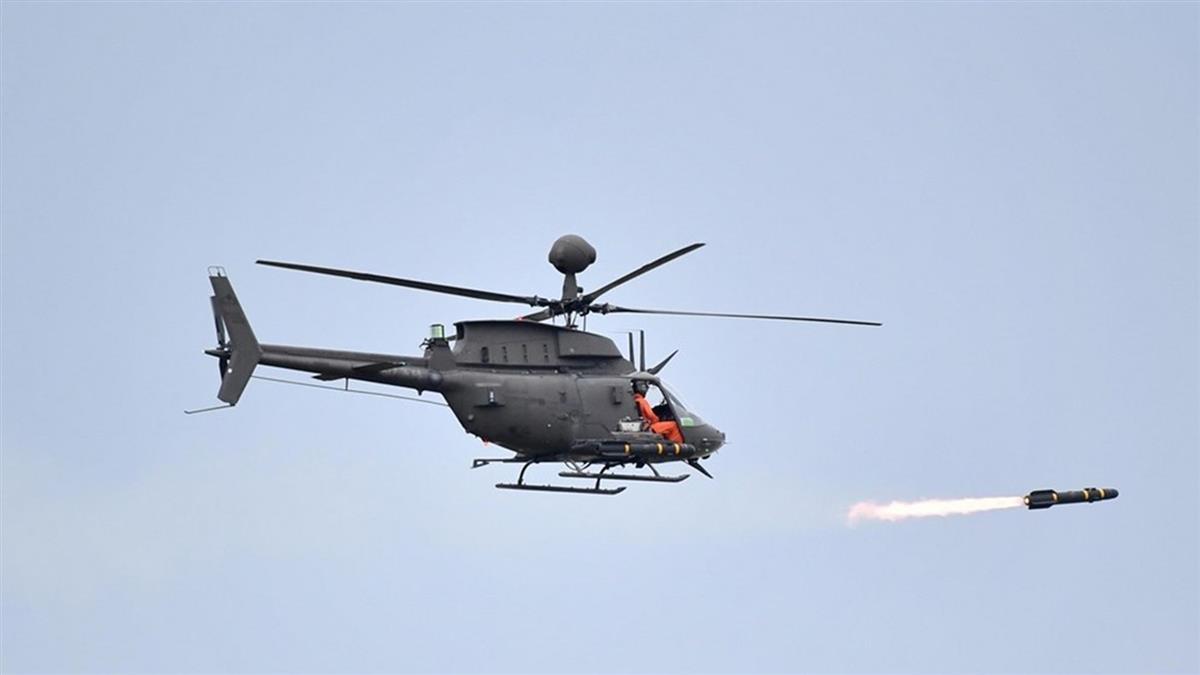 OH-58D戰搜直升機墜落釀2死!軍方曝可疑原因