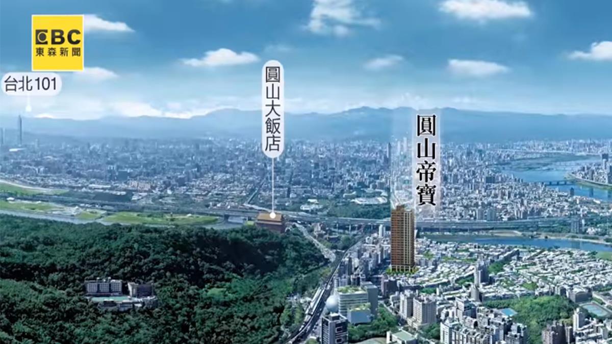 圓山官道山水地標 商二代首選輕豪宅曝光