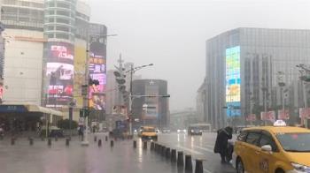 午後雨彈炸裂!新北市、桃園市受雷雨波及 16縣市大雨特報