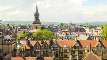 英國牛津市高票通過  研擬與台灣城市締結姊妹市