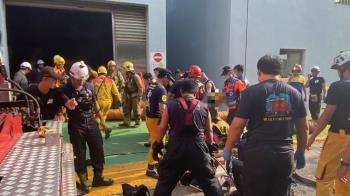 快訊/台南2工人吸硫化氫昏迷 送醫前無生命跡象