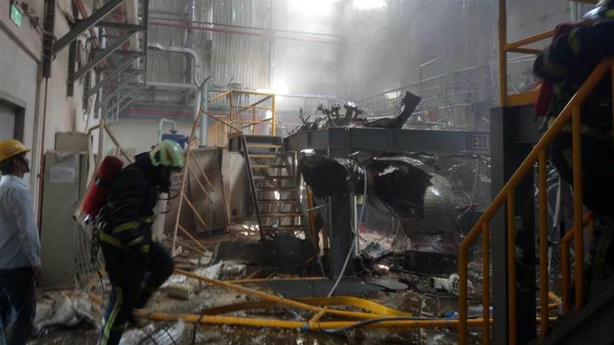 彰濱工業區化學公司實驗室氣爆!2員工輕重傷