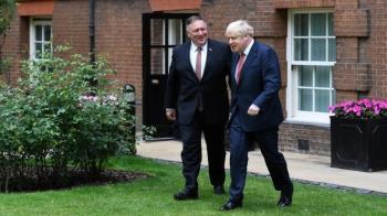 蓬佩奧訪問倫敦 英國在美國中國夾縫中如何考量自身利益