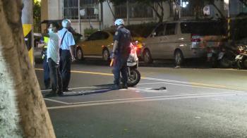 北市9旬翁闖紅燈遭撞 人貼車頭拖5米慘亡