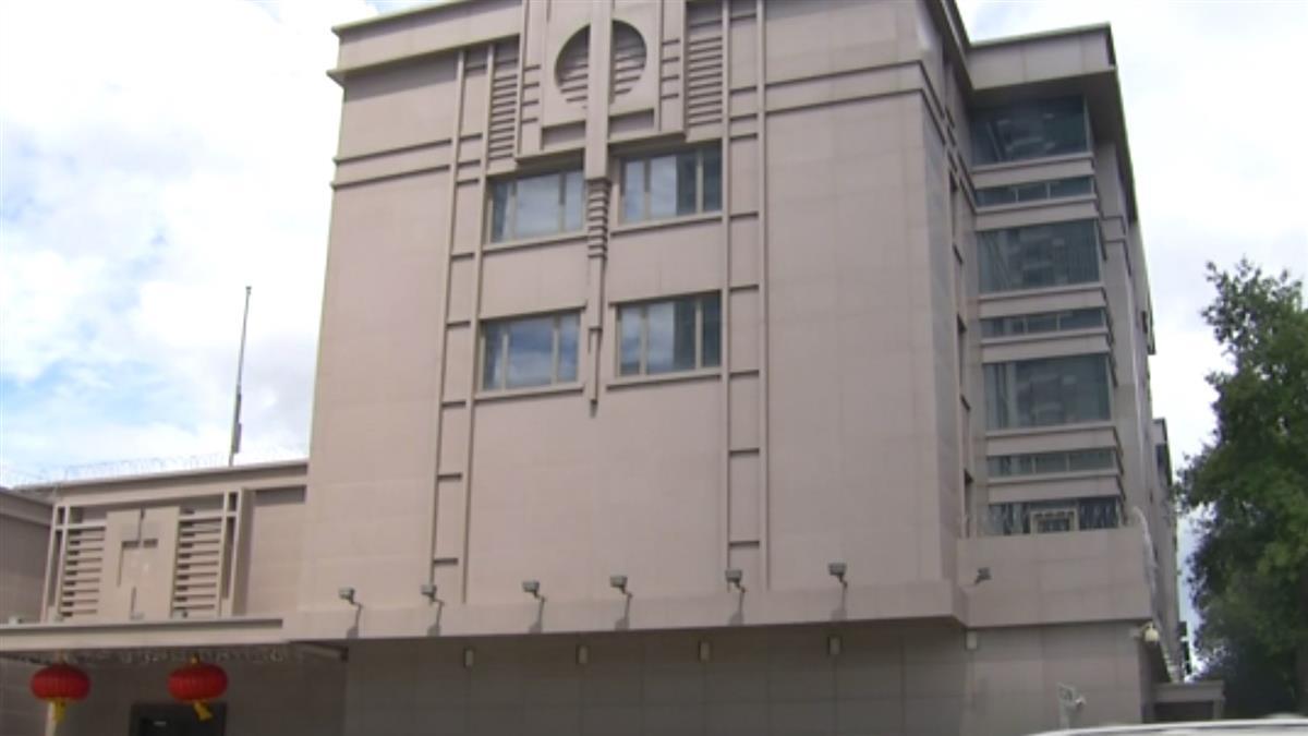 中國駐休士頓領事館關閉!美官員破門而入 警嚴守在外