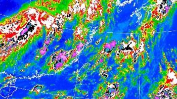 午後雨彈發威!雙北8區升級大雷雨 19縣市大雨特報