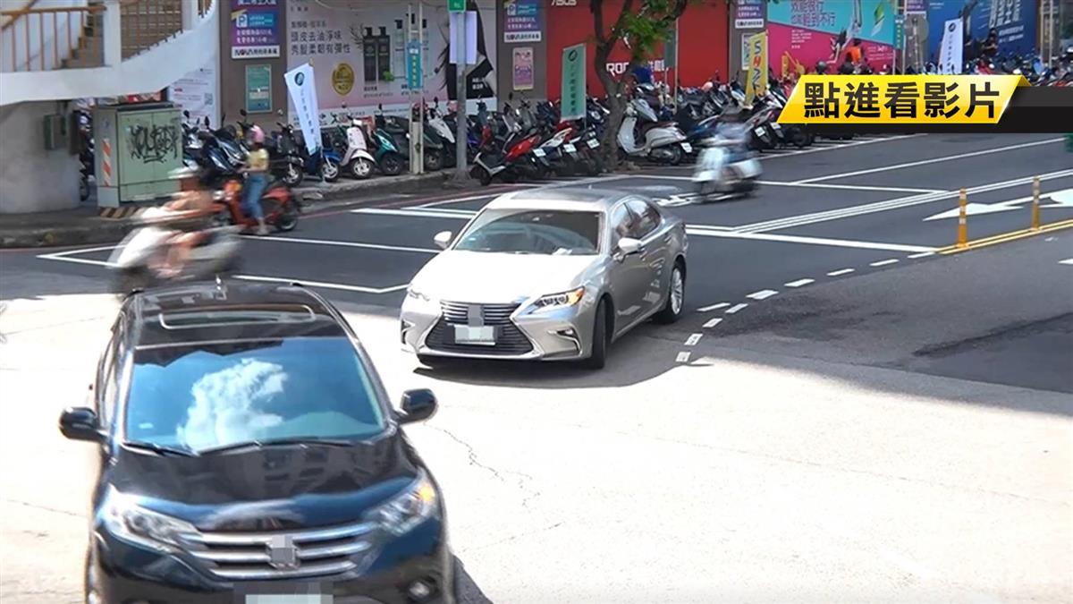 獨/撥方向燈只閃3下!歐系車變換車道遭檢舉 19張單罰5萬7