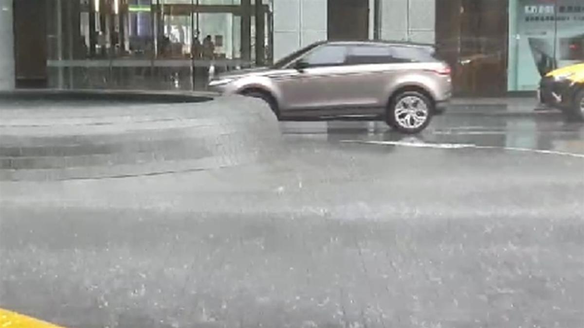 大雨炸17縣市!北市信義區時雨量達40毫米
