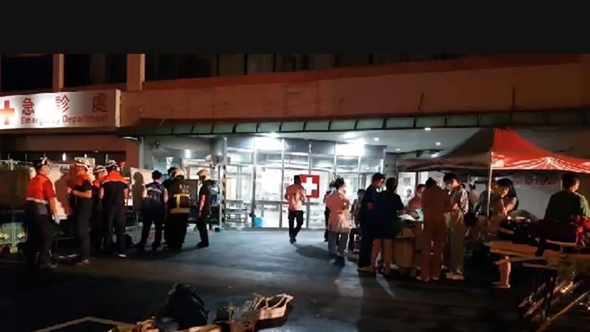 北市聯醫忠孝院區深夜火警 疑地下室天花板起火