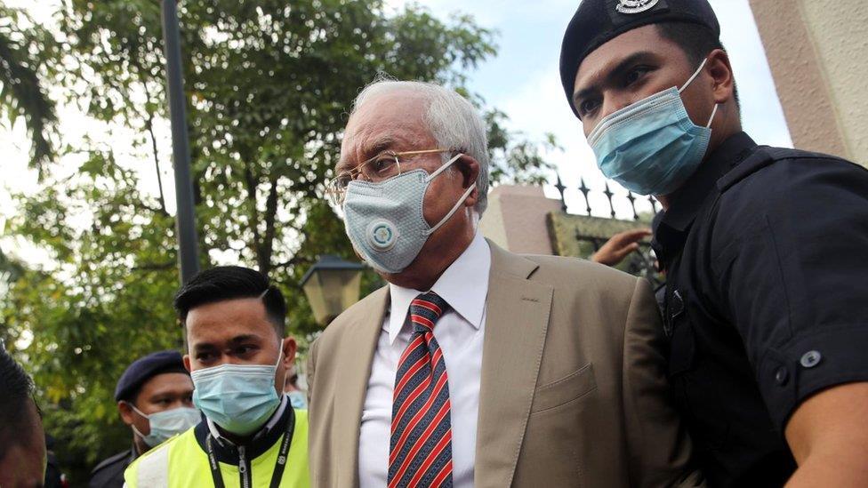 馬來西亞前總理納吉布被判12年 其人其案四個看點