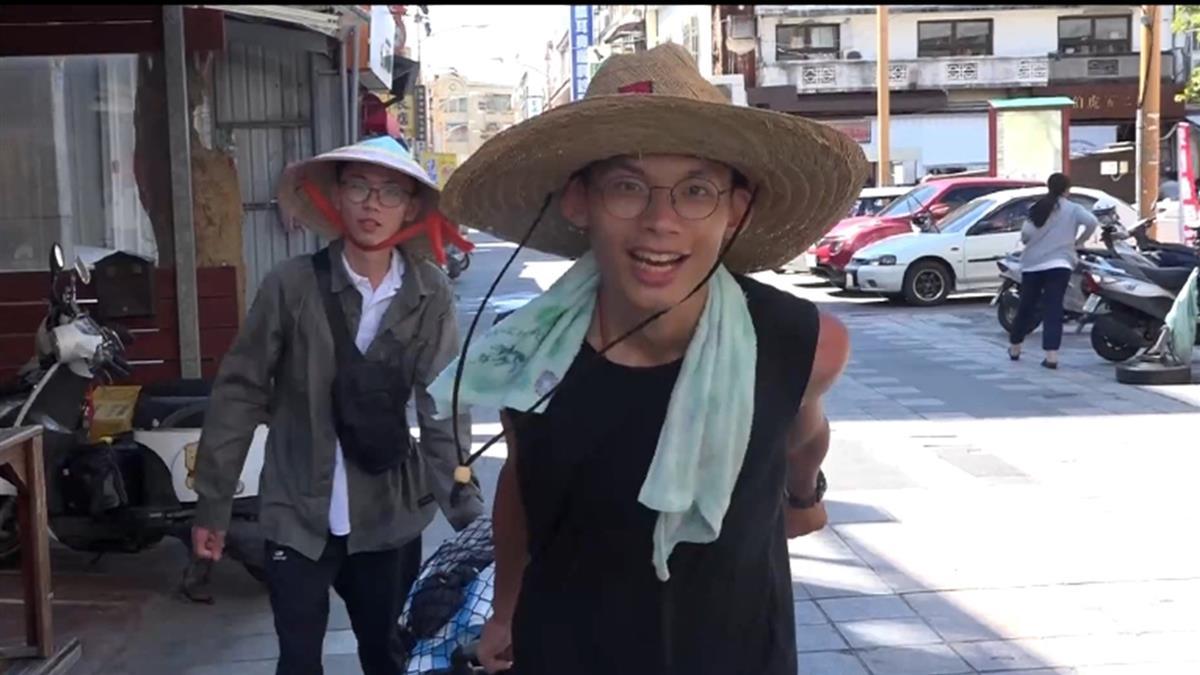 獨/二男大生徒步環島六十天 為完成畢業作品展