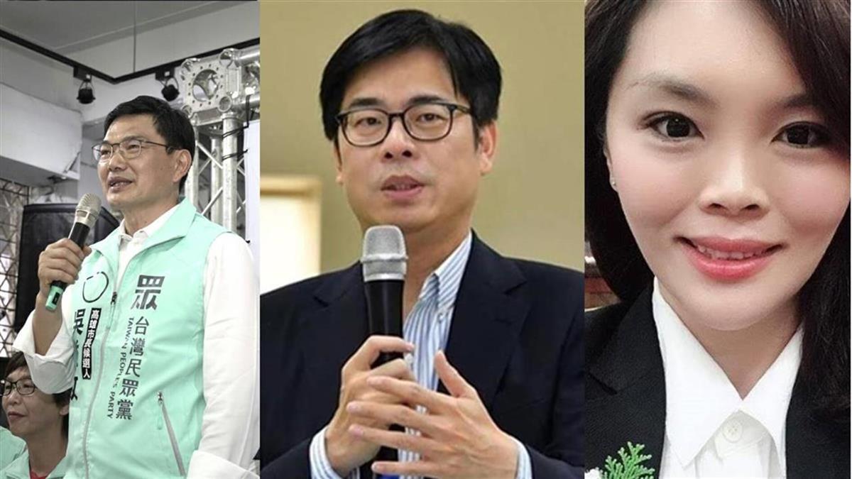高雄市長補選政見會8/1登場  藍綠白參選人備戰