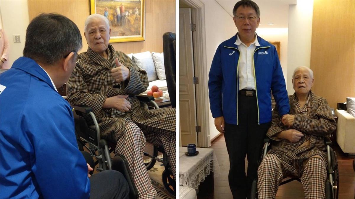 前總統李登輝病逝 柯文哲PO合照悼念:時代的英雄