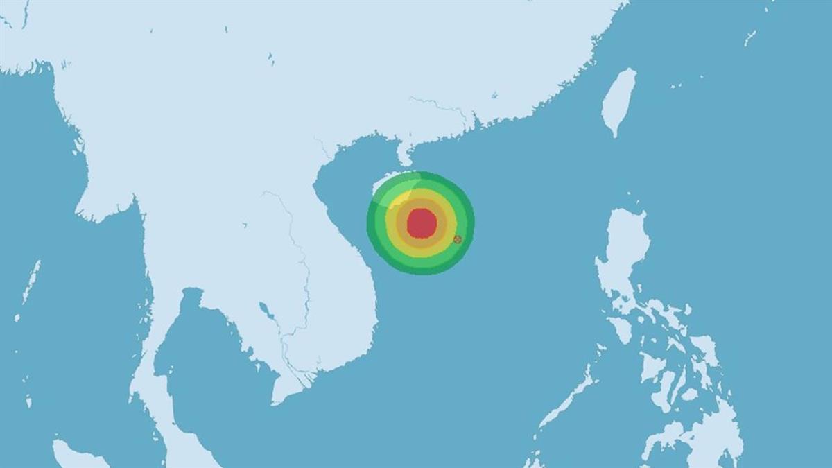 熱帶性低氣壓成形 最快31日增強為颱風