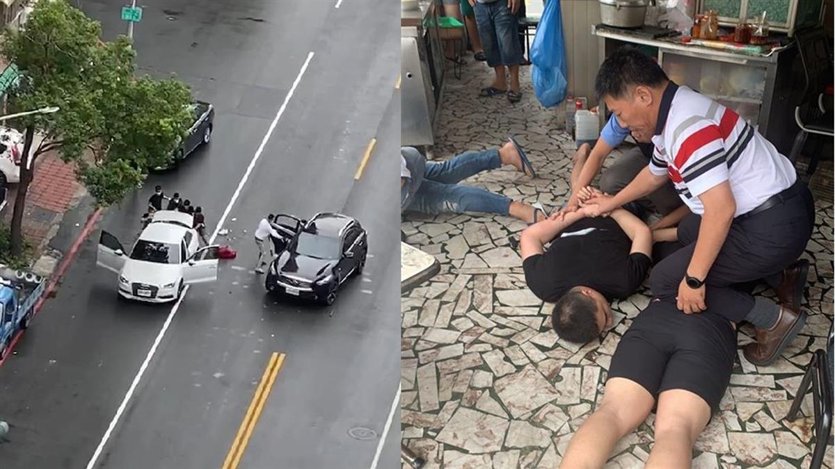 高雄砍情敵爆街頭復仇!女煞被狂打強擄 7小時後被救出