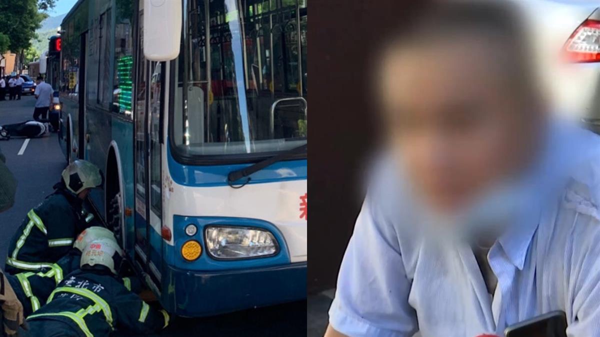 違停賓士開門!23歲女騎士遭公車輾死 男駕駛崩潰說話了