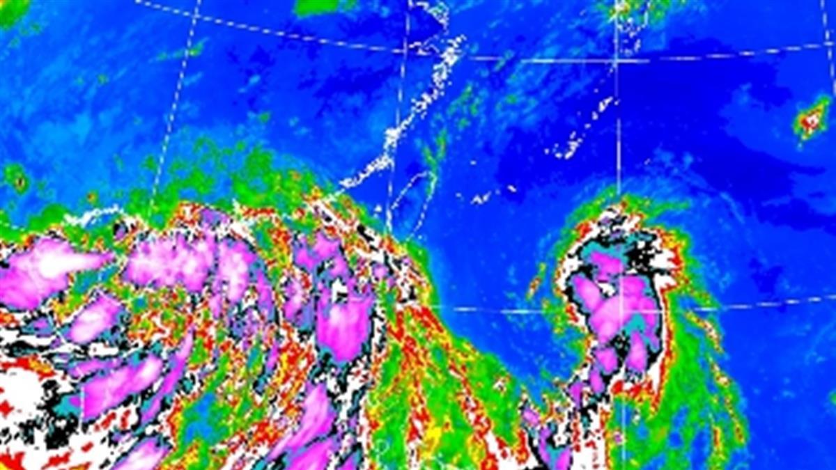 辛樂克最快今成颱! 菲國旁熱低壓恐成四號颱「哈格比」