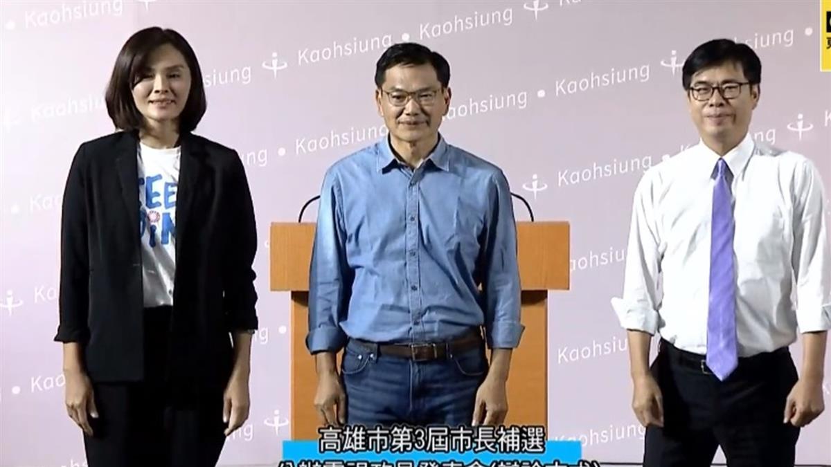 火力全開!李眉蓁怒喊「民進黨負債3300億」 陳其邁一句嗆爆