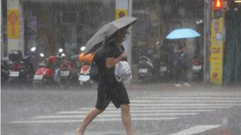 快訊/哈格比颱風步步近逼!午後雨彈擴大 17縣市大雨特報