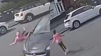11歲女童被轎車撞飛 下秒竟自行起身離開