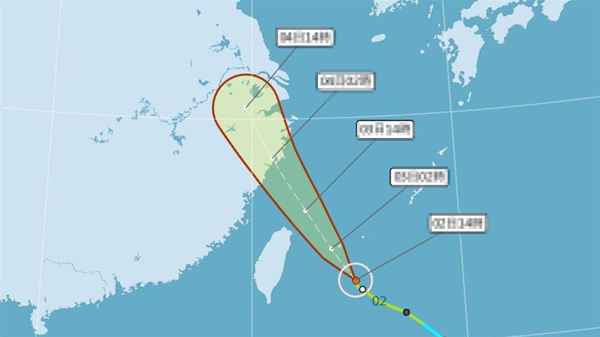 颱風哈格比強度再增強!越晚雨越大 這天影響最劇烈