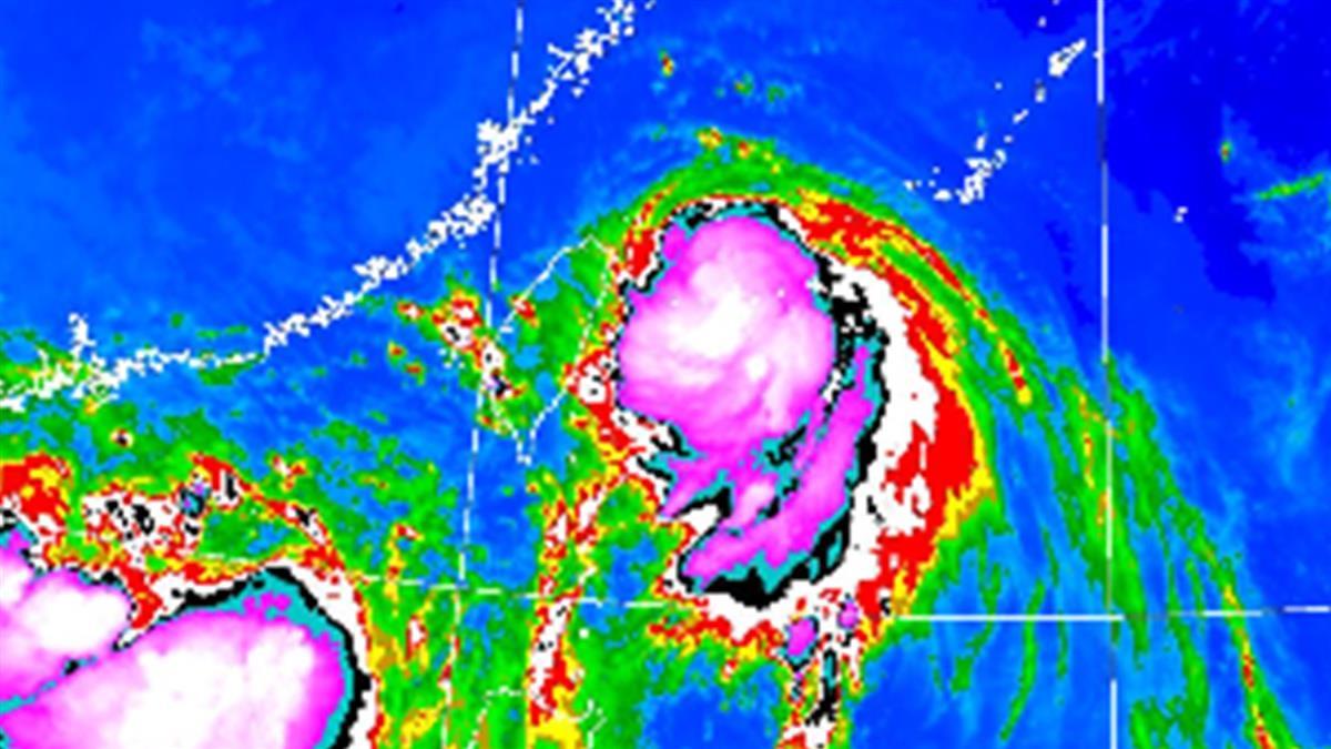 颱風哈格比恐再增強!11縣市發布豪大雨特報