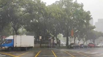 外圍環流發威!哈格比雨彈狂炸  16縣市豪、大雨特報