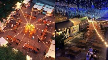 全台最美夜市!台中「富地市場」日式木作攤位玩翻